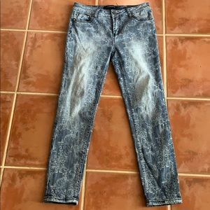Liverpool Jeans Co Penny Ankle Skinny Distressed